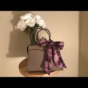 Steve Madden tan purse with scarf